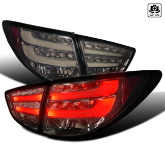10-UP Hyundai Tucson Led Tail Light Smoke With Light Bar