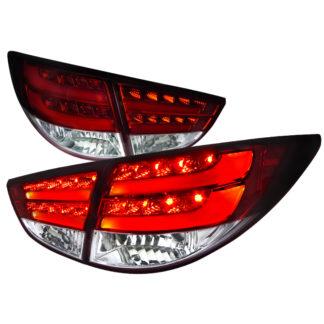 10-UP Hyundai Tucson Led Tail Lights Red