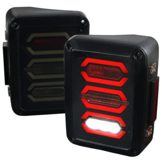 07-17 Jeep Wrangler Led Tail Lights