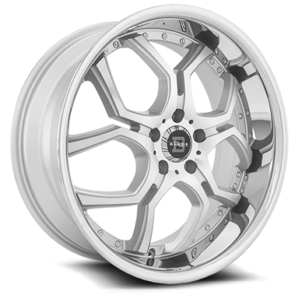 Blade RT Series One Piece Cast Aluminum Wheel; Model SL-477 Lazaro
