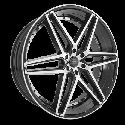 Blade RT Series One Piece Cast Aluminum Wheel; Model RT-451 Bendetta 6