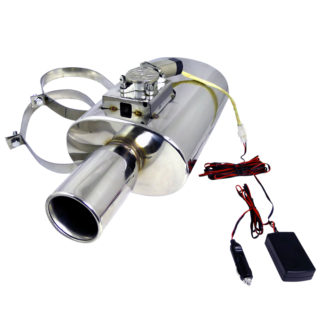 ALL All All Apexi N1-Style Muffler With Electronic Silencer