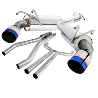 10-15 Chevy Camaro Catback Exhaust System With Burnt Tip