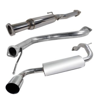 88-91 Honda Civic 2.5 Inch Inlet N1 Style Catback Exhaust