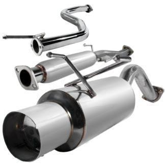 92-95 Honda Civic 2.5 Inch Inlet N1 Style Catback Exhaust