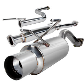 96-00 Honda Civic 2.5 Inch Inlet N1 Style Catback Exhaust