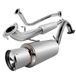 95-99 Mitsubishi Eclipse 2.5 Inch Inlet N1 Style Catback Exhaust Non Turbo