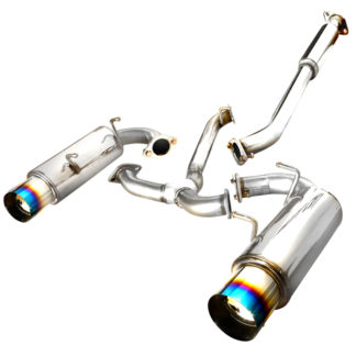 2012 Scion Frs Catback Exhaust Dual Burnt Tip