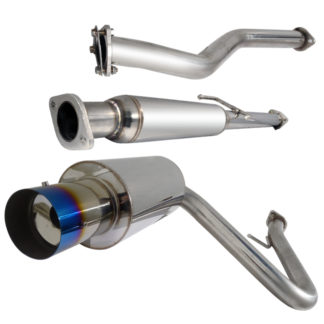 05-10 Scion Tc 2.5 Inch Inlet N1 Style Catback Exhaust With Burnt Tip