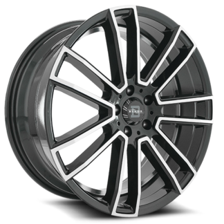 Blade One Piece Cast Aluminum Wheel; Model BL-401 Nadir