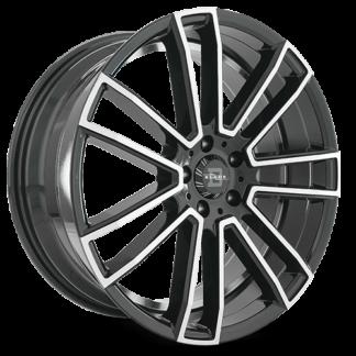 Blade One Piece Cast Aluminum Wheel; Model BL-401 Nadir