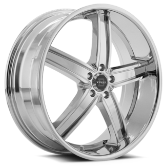 Blade One Piece Cast Aluminum Wheel; Model BL-402 5S Pharaoh