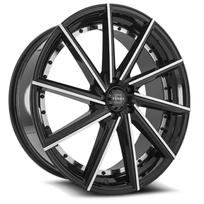 Blade RT Series One Piece Cast Aluminum Wheel; Model RT-453 Renata