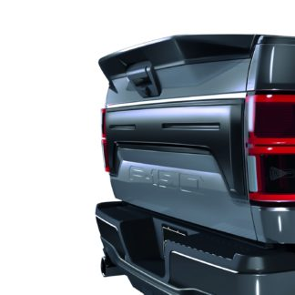 AIR DESIGN; 2018 UP FORD F150 TAILGATE APPLIQUE COVER SATIN BLACK