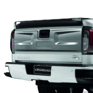 AIR DESIGN; 2016 UP GMC SIERRA TAILGATE APPLIQUE COVER SATIN CHROME