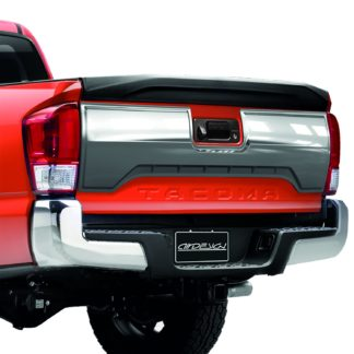 AIR DESIGN; 2016 UP TOYOTA TACOMA TAILGATE APPLIQUE COVER SATIN CHROME