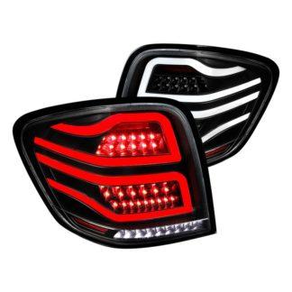 06-11 Mercedes ML Class Ml Class Led Tail  Lights Black