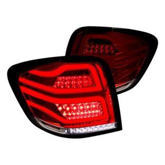 06-11 Mercedes ML Class Ml Class Led Tail Lights Red Smoke
