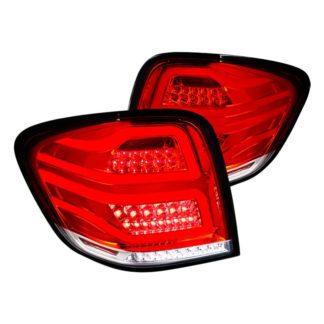 06-11 Mercedes ML Class Ml Class Led  Tail Lights Red