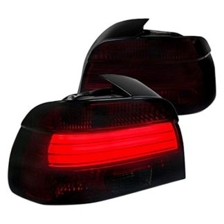 01-03 BMW 5 Series Led Taillights Red Smoke