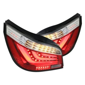 03-07 BMW 5 Series Red Led Tail Lights