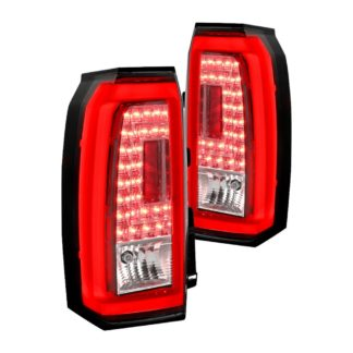 15-UP Chevrolet Tahoe Led Tail Lights-Clear