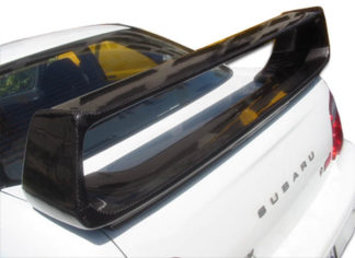 2002-2007 Subaru Impreza WRX STI 4DR Carbon Creations STI Look Wing Trunk Lid Spoiler - 1 Piece
