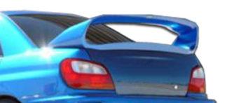 2002-2007 Suburu Impreza WRX STI 4DR Duraflex Zero Wing Trunk Lid Spoiler - 1 Piece (Overstock)