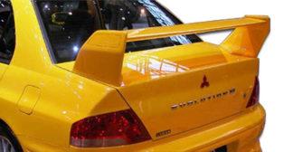 2002-2007 Mitsubishi Lancer 2003-2006 Mitsubishi Lancer Evolution 8 9 Duraflex Evo 7 Wing Trunk Lid Spoiler - 1 Piece
