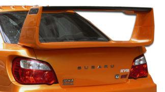2002-2007 Subaru Impreza WRX STI 4DR Duraflex C-GT Wing Trunk Lid Spoiler - 1 Piece