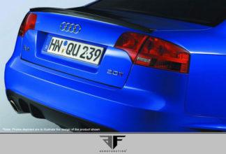 2006-2008 Audi A4 S4 B7 4DR Carbon AF-1 Trunk Spoiler ( CFP ) - 1 Piece