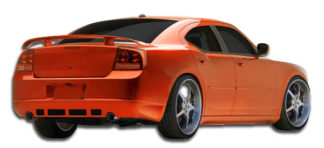 2006-2010 Dodge Charger Duraflex VIP Rear Lip Under Spoiler Air Dam (base model) - 1 Piece