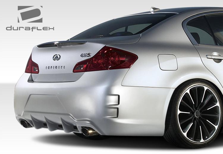 Front Bumper Cover For 2007-2008 Infiniti G35 Sedan 09 G37 Primed
