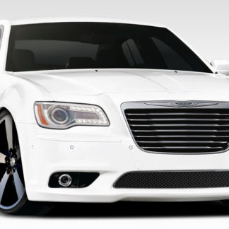 2011-2019 Chrysler 300 Duraflex SRT Look Front Bumper Cover - 1 Piece