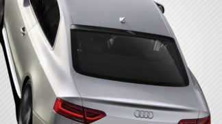2008-2015 Audi A5 S5 B8 2DR Carbon Creations CR-C Roof Window Wing Spoiler - 1 Piece (Overstock)