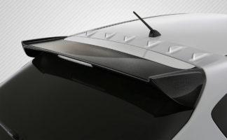 2008-2011 Subaru Impreza 5DR 2008-2014 Subaru WRX STI 5DR Carbon Creations STI Look Rear Wing Trunk Lid Spoiler - 1 Piece