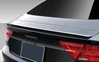 2012-2018 Audi A7 C7 Eros Version 1 Rear Wing Trunk Lid Spoiler - 1 Piece (Overstock)