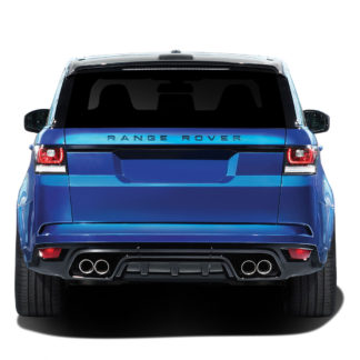2014-2015 Land Rover Range Rover Sport Vaero SVR Look Rear Bumper - 1 Piece