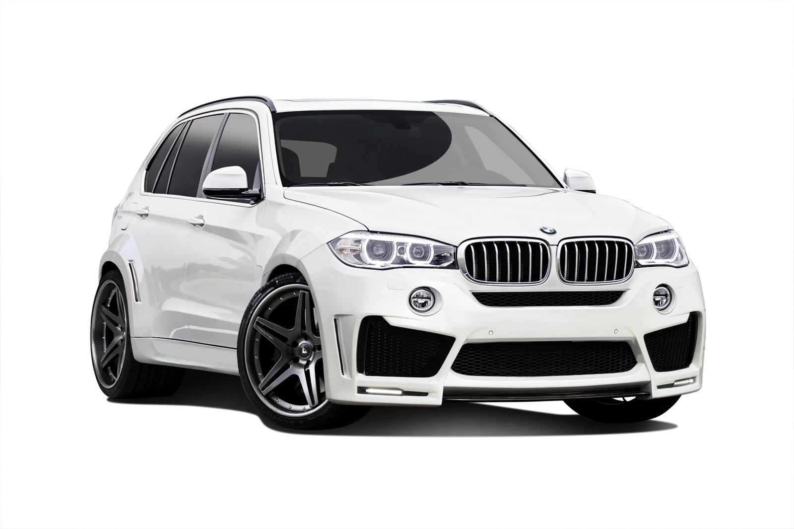 2014-2015 BMW X5 F15 Carbon AF-1 Wide Body Kit - 22 Piece