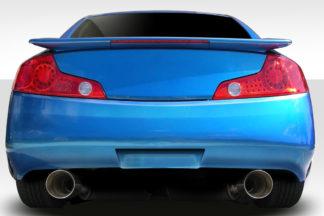 2003-2007 Infiniti G Coupe G35 Duraflex D-Spec Rear Bumper Cover - 1 Piece