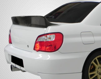 2002-2007 Subaru Impreza / WRX 4DR Carbon Creations Downforce Rear Wing Spoiler - 1 Piece