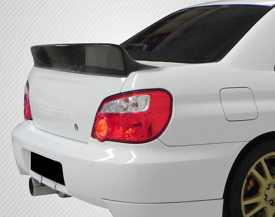 2002 2007 Subaru Impreza Wrx 4dr Carbon Creations Downforce Rear Wing Spoiler 1 Piece