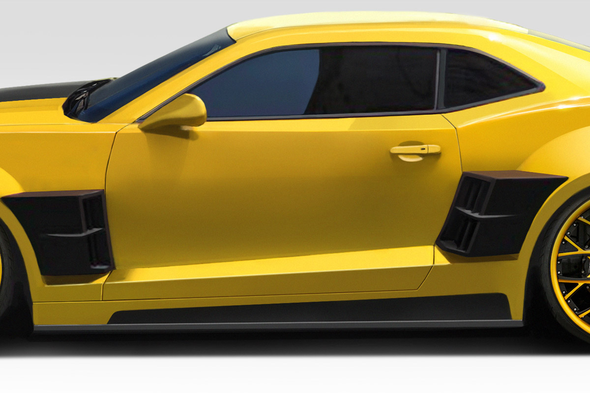 2010 2013 Chevrolet Camaro Duraflex Ccg Wide Body Kit 15