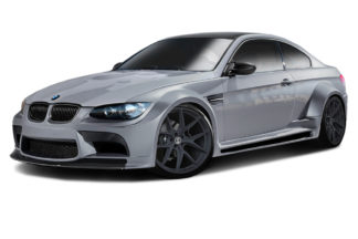 2008-2013 BMW M3 E92 2DR Coupe AF-5 Wide Body Body Kit ( GFK ) - 9 Piece