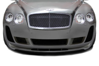 2003-2010 Bentley Continental GT GTC AF-2 Front Lip Spoiler ( GFK ) - 1 Piece ( Must be used with AF-2 Front Bumper)