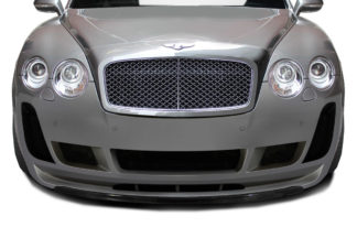 2003-2010 Bentley Continental GT GTC Carbon AF-2 Front Lip Spoiler ( CFP ) - 1 Piece ( Must be used with Carbon AF-2 Front Bumper)