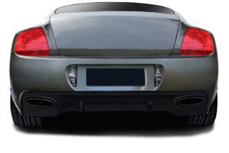 2003-2010 Bentley Continental GT GTC AF-2 Rear Bumper ( GFK ) - 1 Piece