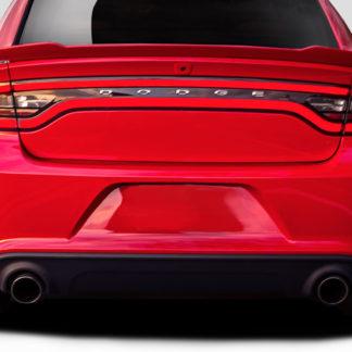 2015-2019 Dodge Charger Duraflex Hellcat Look Rear Bumper - 1 Piece