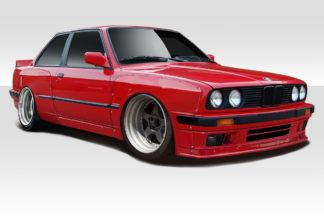 1984-1991 BMW 3 Series E30 Duraflex TKO Wide Body Kit - 10 Piece