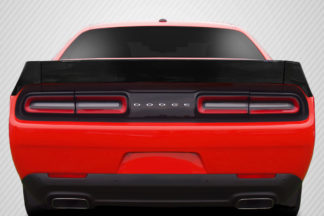 2008-2019 Dodge Challenger Carbon Creations DriTech Novara Wing - 3 Piece